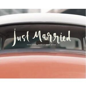 ♠️ kate spade new york Just Married Wedding Decal